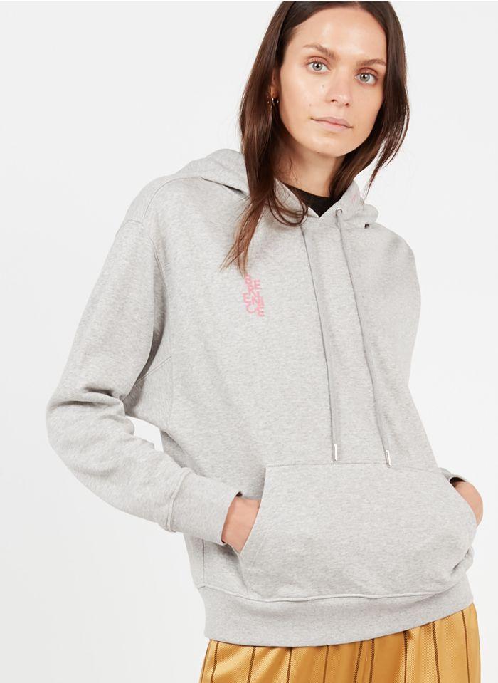 BERENICE Kapuzensweatshirt aus Baumwolle in Grau