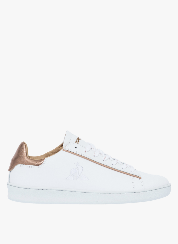 BOCAGE Bocage x Le Coq Sportif - Ledersneaker in Weiß