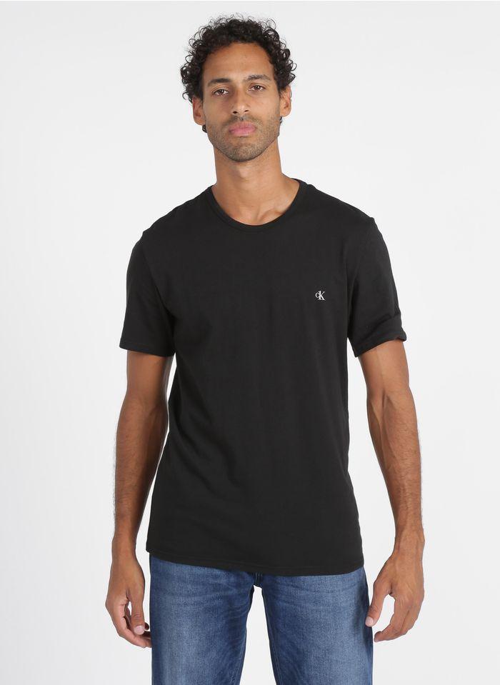 CALVIN KLEIN UNDERWEAR 2er-Packung Baumwoll-T-Shirts in Schwarz