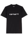 CARHARTT WIP Black / White Schwarz