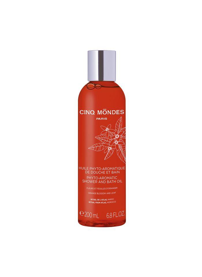 CINQ MONDES Phytoaromatisches Dusch- und Badeöl (Rituel de l'Atlas)