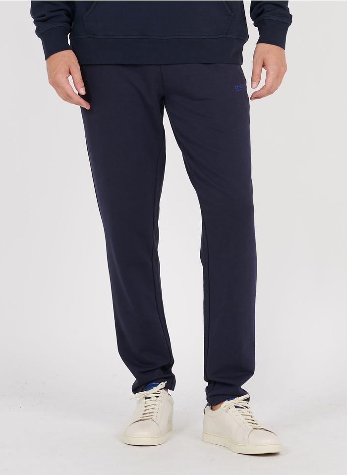 HACKETT Jogginghose aus Baumwoll-Mix in Blau