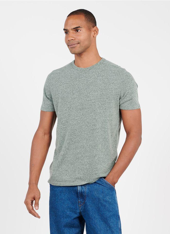 HOMECORE Rundhals-T-Shirt aus Baumwoll-Mix, Regular Fit in Grau