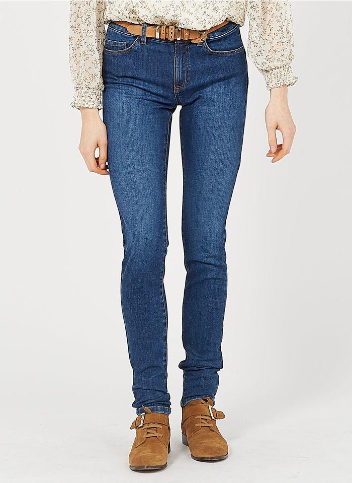 I CODE Slimfit-Jeans aus Baumwoll-Mix in Blau