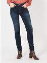 LE TEMPS DES CERISES BLUE / BLACK Stone-bleached Jeans