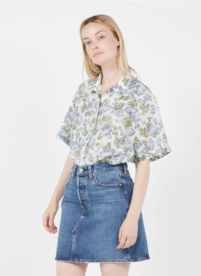 LEVI'S Bedruckte Bluse mit klassischem Kragen in Mehrfarbig