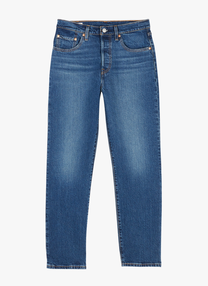 LEVI'S Cropped Jeans in Bleached Jeans