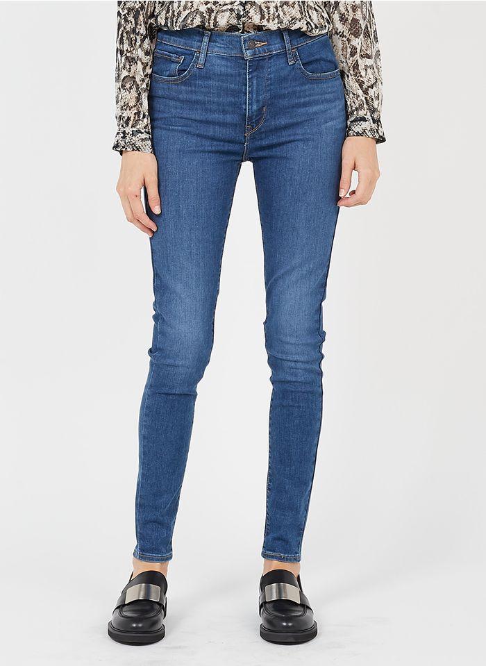 LEVI'S High Waist Skinny Jeans in Blau