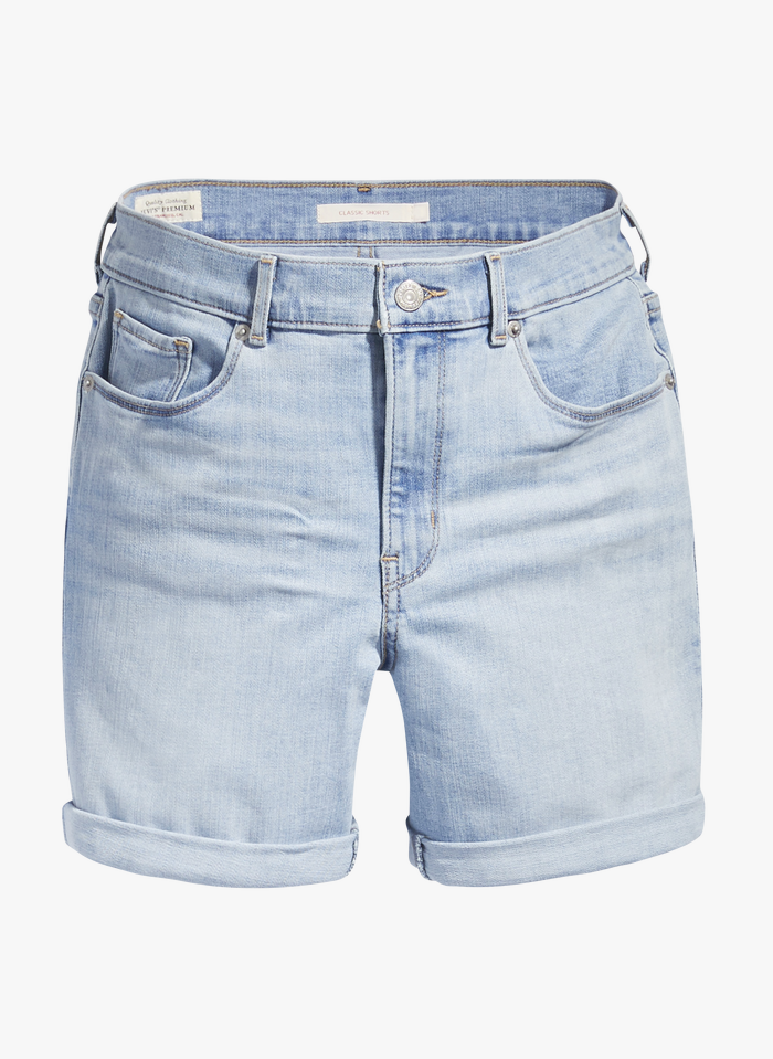 LEVI'S Jeansshorts in Bleached Jeans