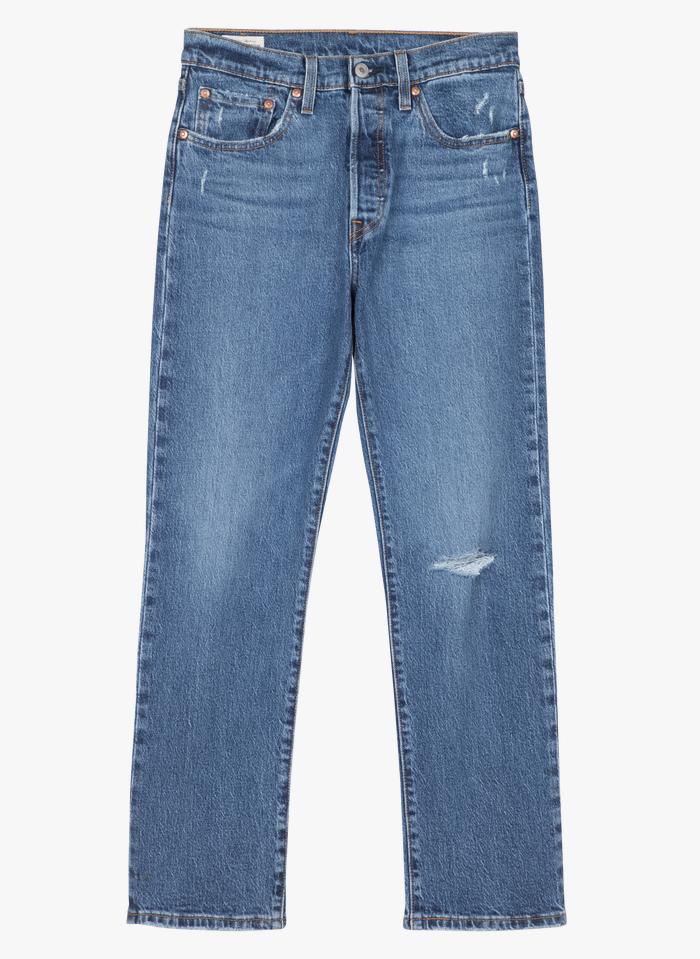 LEVI'S Straight Cut Jeans in Blau