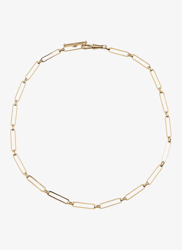 MILA CREATION Grobgliedrige Halskette in Golden