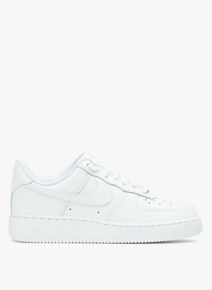 NIKE Air Force 1 - Niedrige Ledersneaker in Weiß