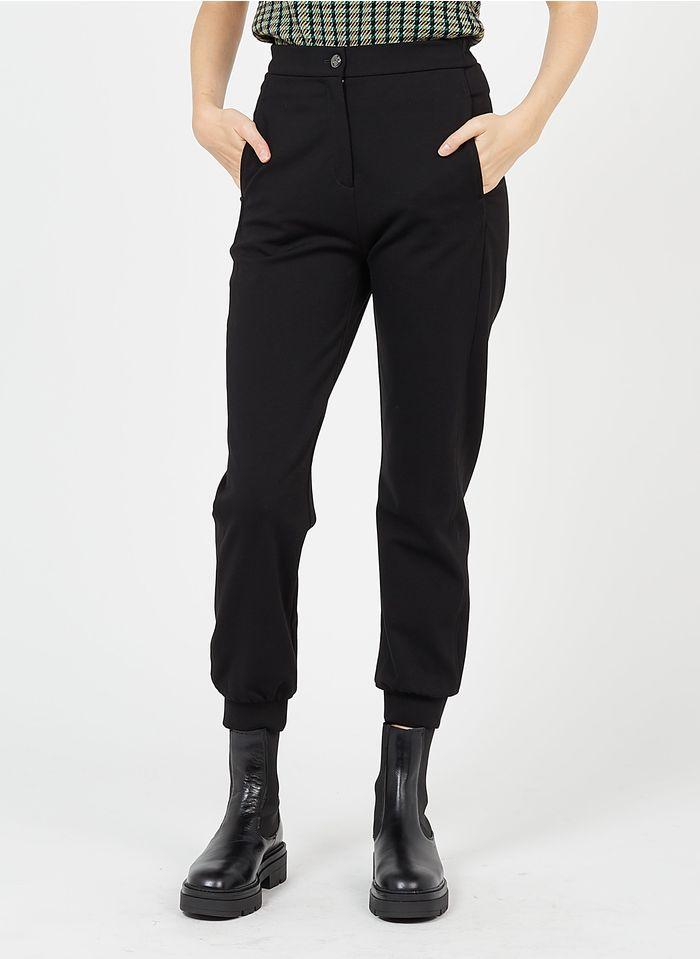 PINKO Gerade geschnittene Hose in Schwarz