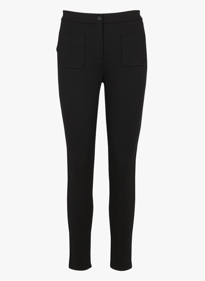 PINKO Slimfit-Taillenhose in Schwarz