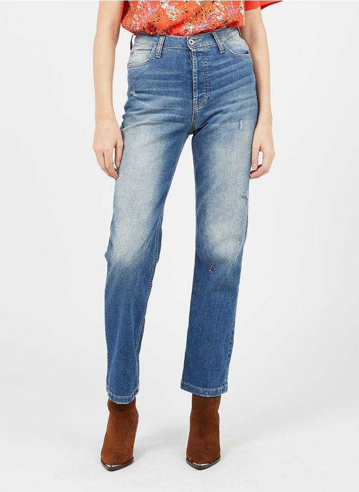 PLEASE High Waist Boyfriend-Jeans