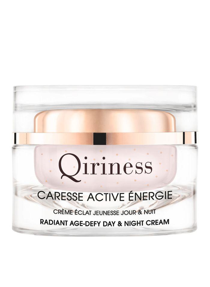 QIRINESS Caresse Active Énergie - Tages- und Nachtcreme für Strahlkraft und jugendliches Aussehen