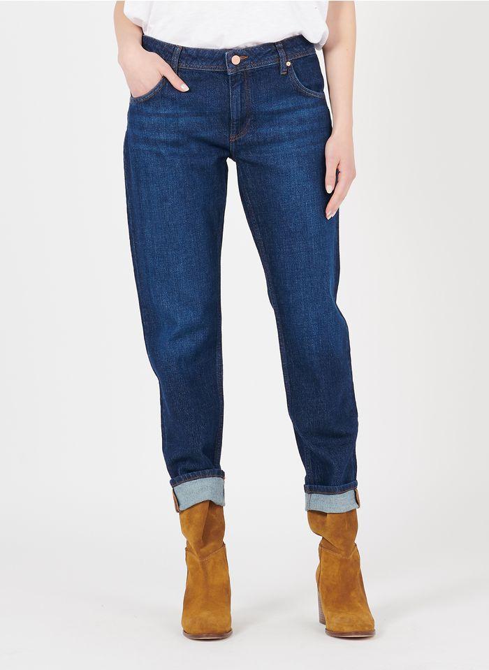 REIKO Boyfriend-Jeans aus Bio-Baumwolle in Blau