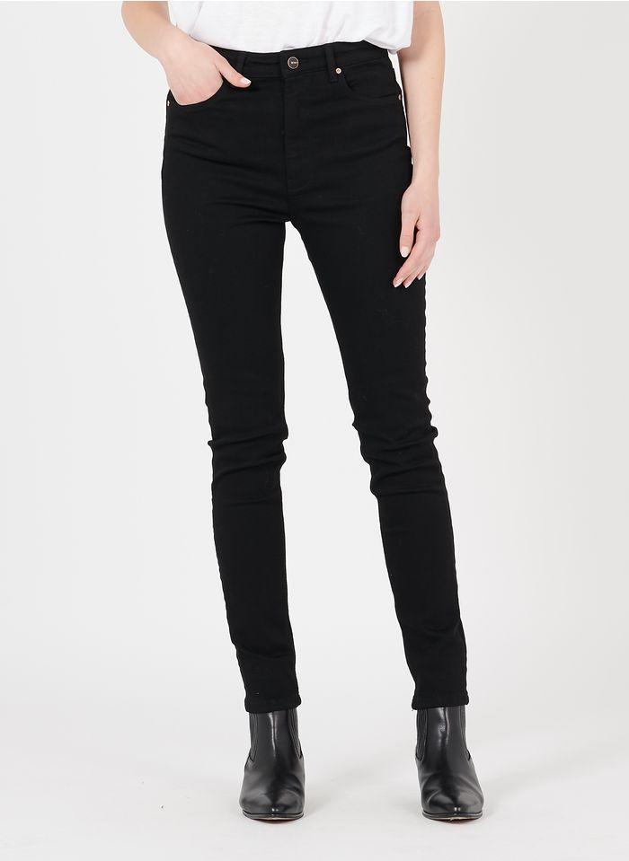 REIKO Skinny-Jeans aus Bio-Baumwoll-Mix in Schwarz