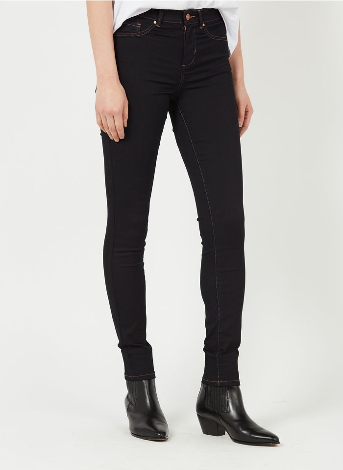 SUD EXPRESS 5 Pocket Skinny Jeggings in Jeans ohne Waschung