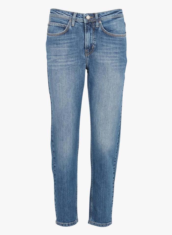 SUD EXPRESS Boyfriend Jeans in Bleached Jeans
