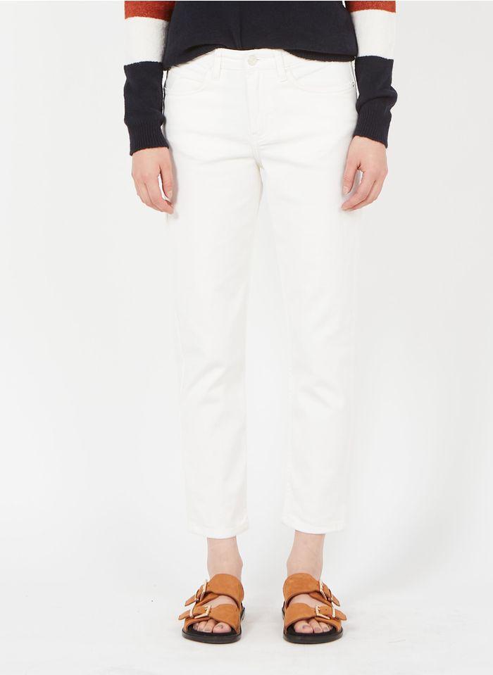 SUD EXPRESS Boyfriend Jeans in Weiß