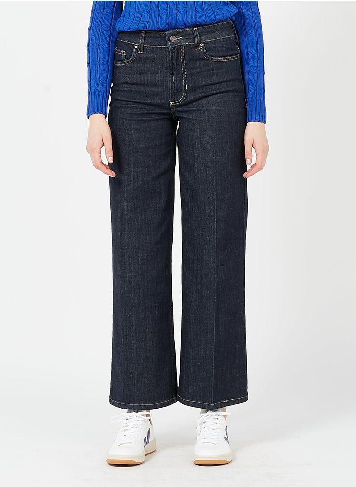 SUD EXPRESS Weit geschnittene Straight Cut Jeans in Jeans ohne Waschung