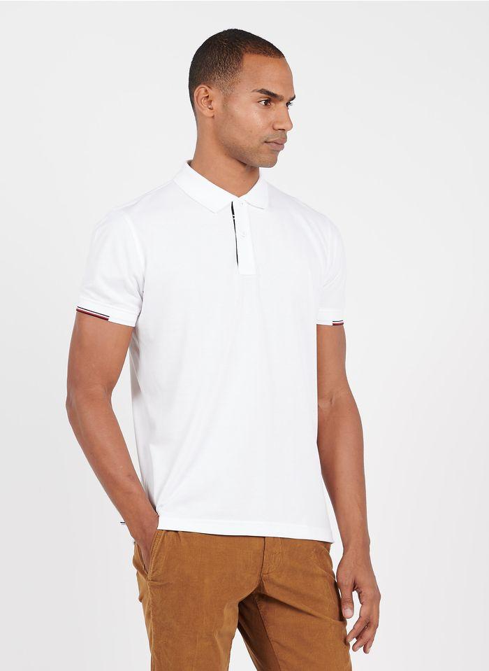TOMMY HILFIGER Poloshirt aus Bio-Baumwolle, Regular Fit in Weiß