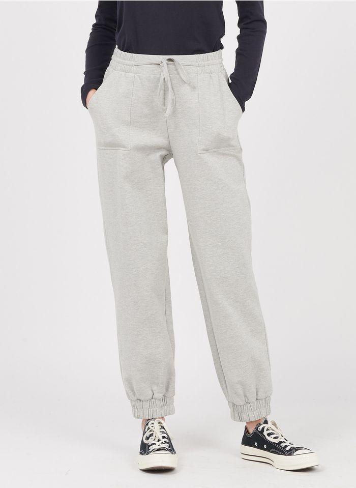WHISTLES Jogginghose aus Baumwoll-Mix in Grau