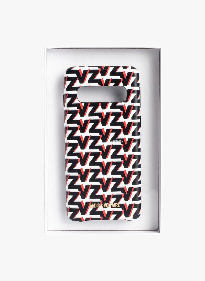 ZADIG&VOLTAIRE Samsung-Hülle mit ZV-Monogramm in Weiß