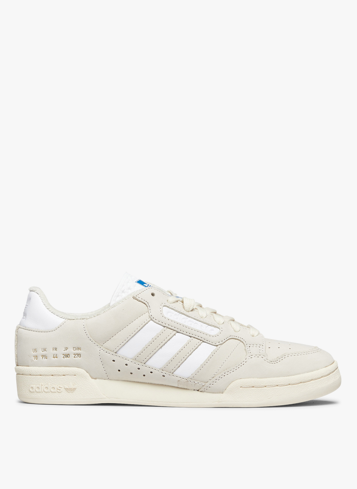 ADIDAS White Adidas Continental 80 Stripes