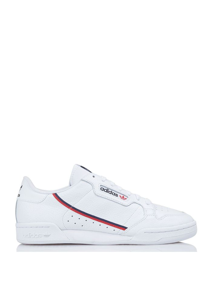 ADIDAS White Continental 80 leather sneakers