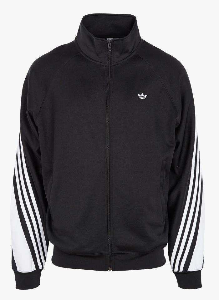 ADIDAS Black Regular-fit high-neck track jacket