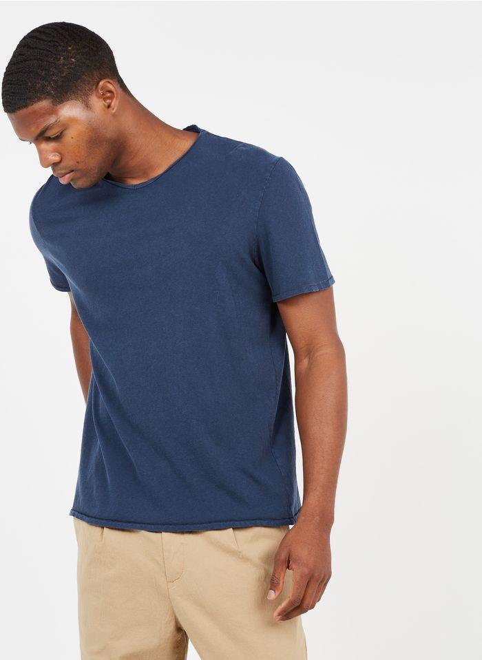AMERICAN VINTAGE Blue Regular-fit round-neck cotton T-shirt