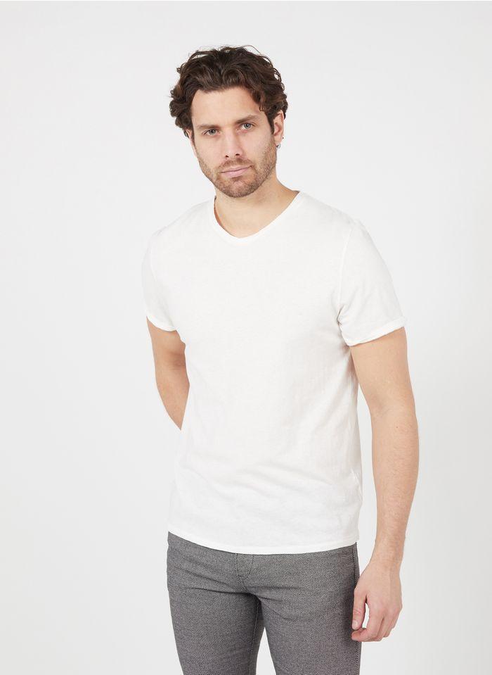 AMERICAN VINTAGE White Regular-fit round-neck cotton T-shirt