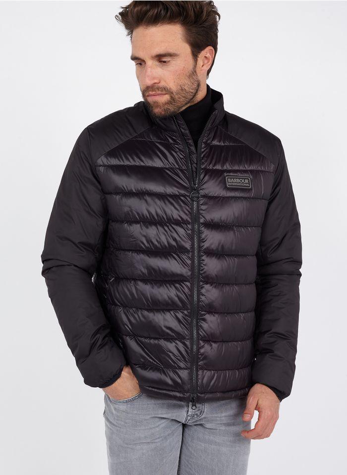 BARBOUR Black High-neck padded jacket