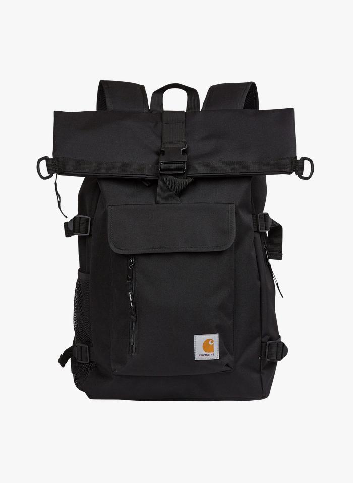CARHARTT WIP Black Canvas backpack