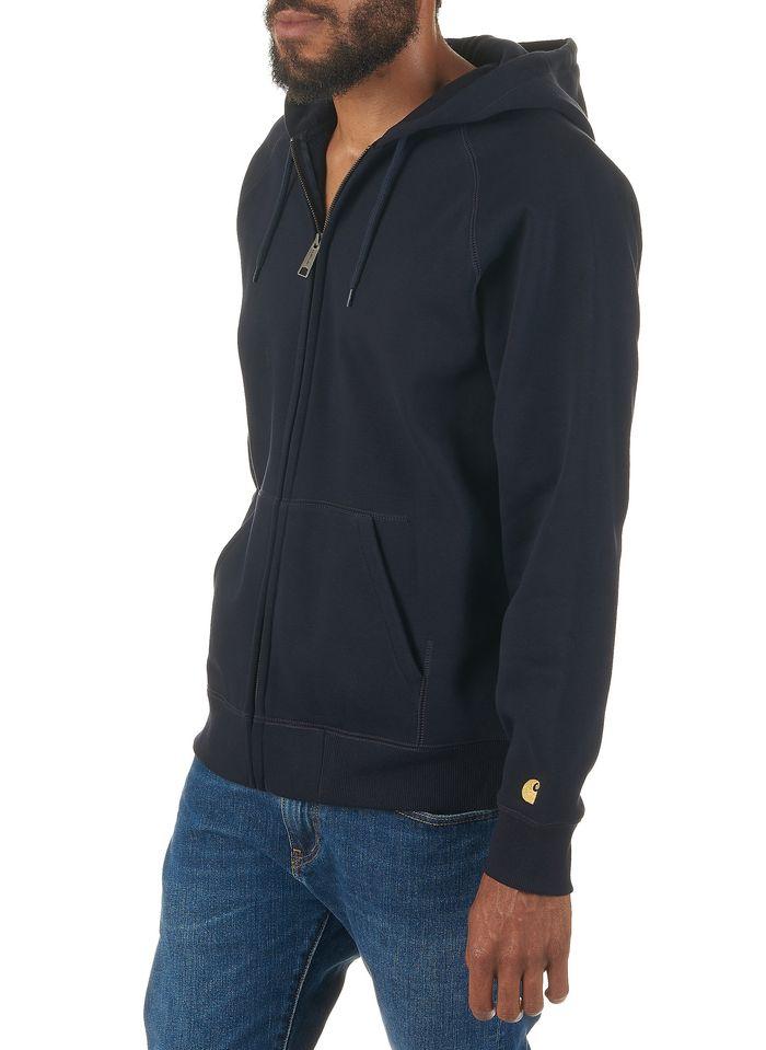 CARHARTT WIP Blue Regular-fit zip-up cotton hoodie
