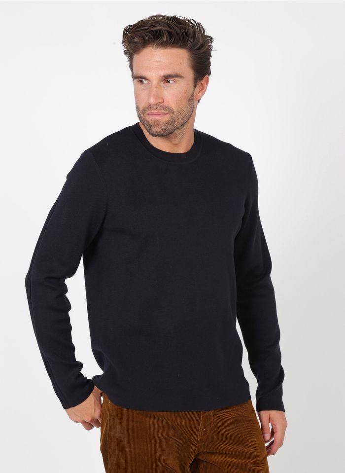 IKKS Blue Regular-fit round-neck sweater