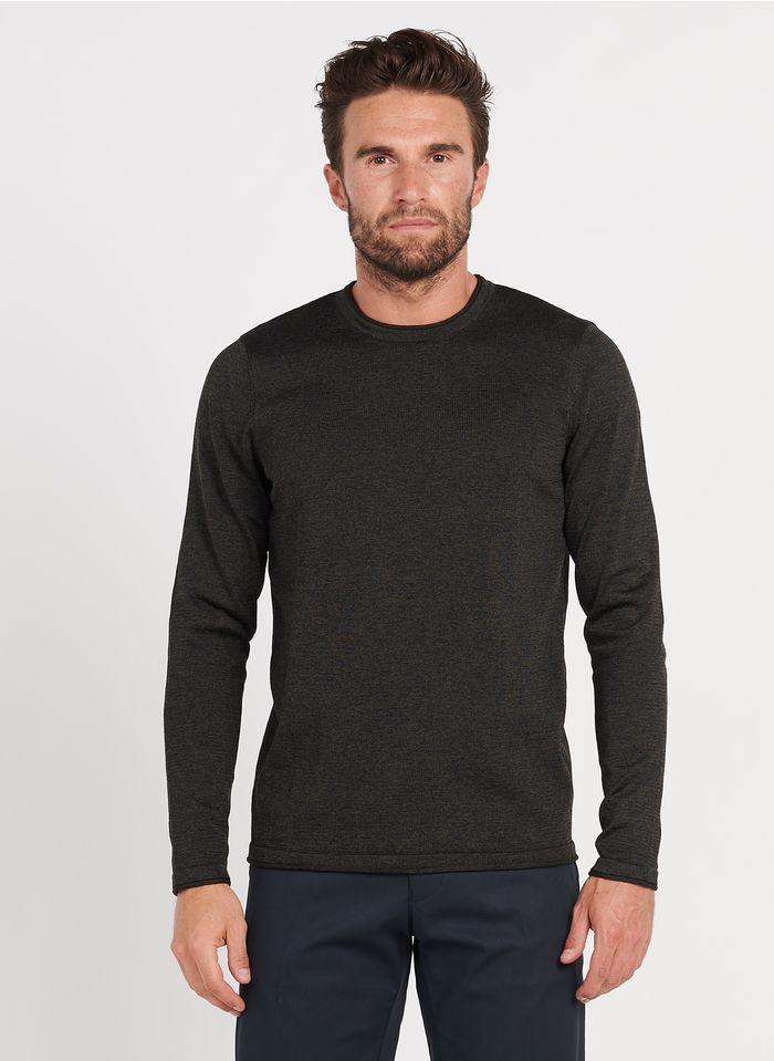 IKKS Brown Regular-fit round-neck sweater