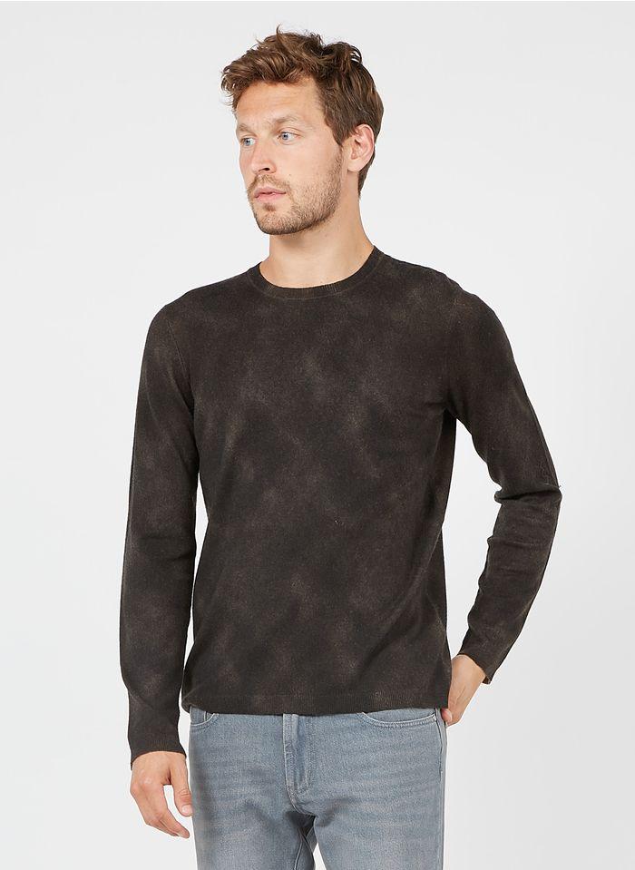 IKKS Grey Regular-fit round-neck sweater
