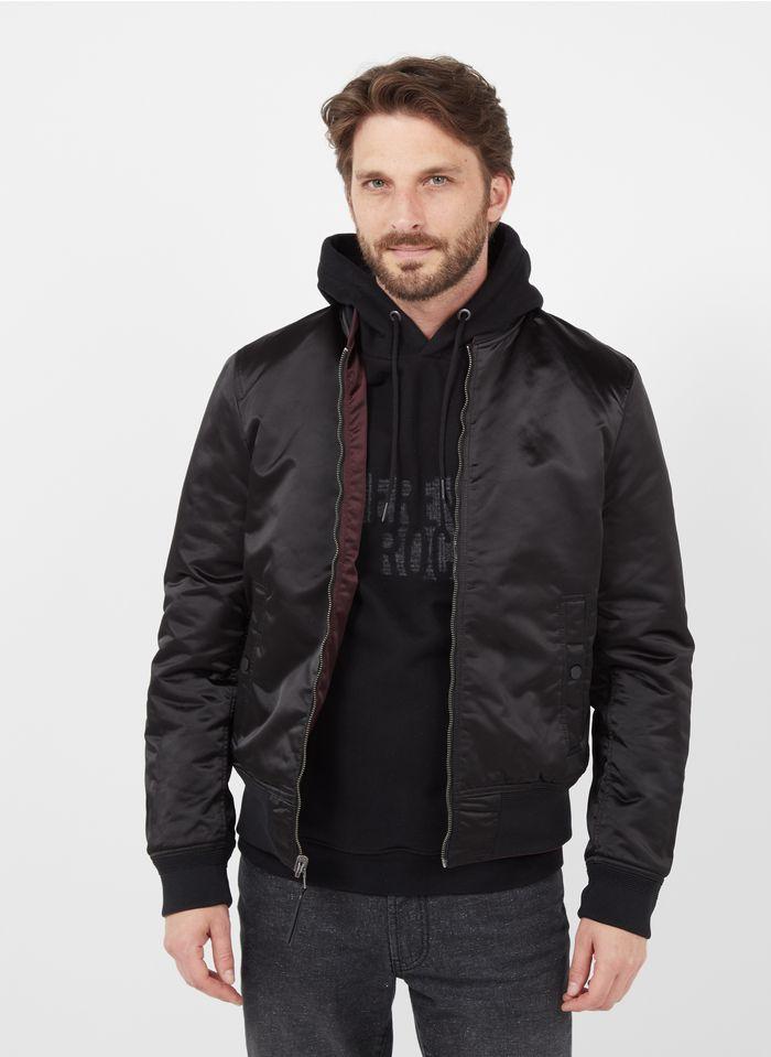 IKKS Purple Reversible zip-up bomber jacket