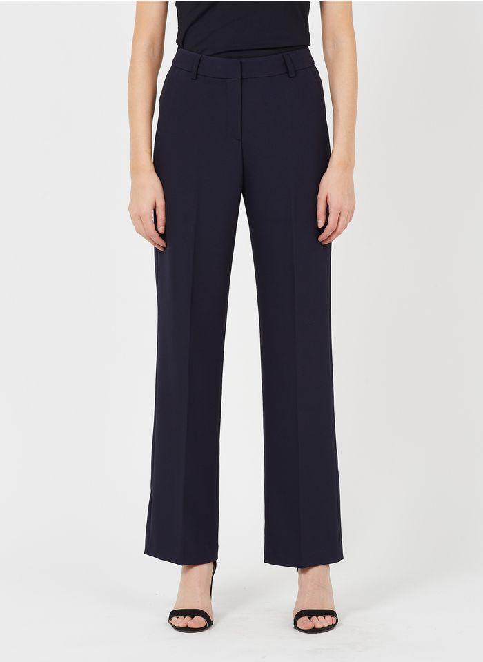 IKKS Blue Straight-leg pants