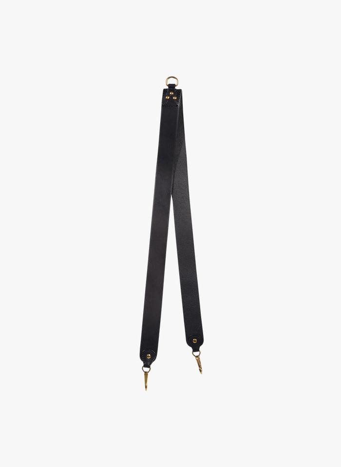 JEROME DREYFUSS Black Leather shoulder strap