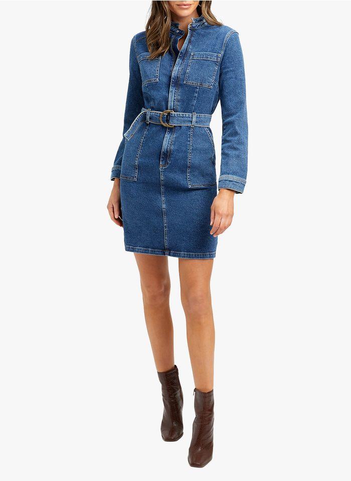 KOOKAI Faded jeans Short denim dress