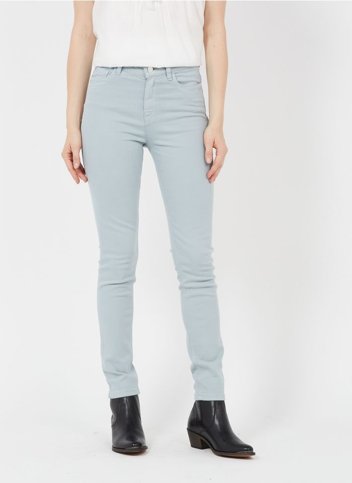MAISON 123 Blue High-rise slim-fit jeans with 5 pockets