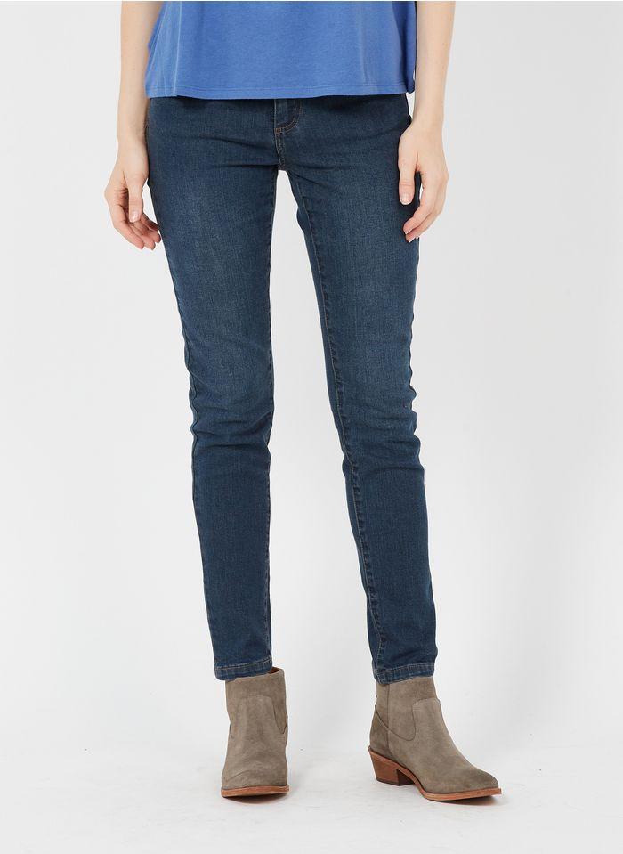 MAISON 123 Raw denim Slim-fit jeans