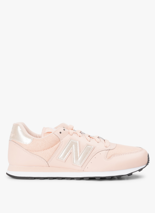 Pink New Balance 500 sneakers