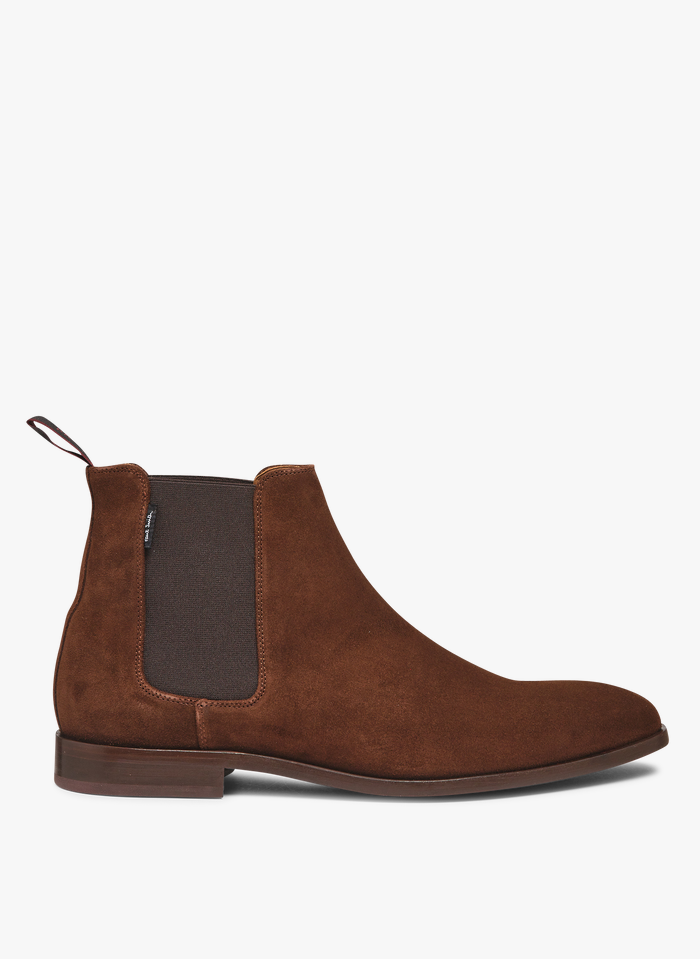 PAUL SMITH Brown Leather ankle boots