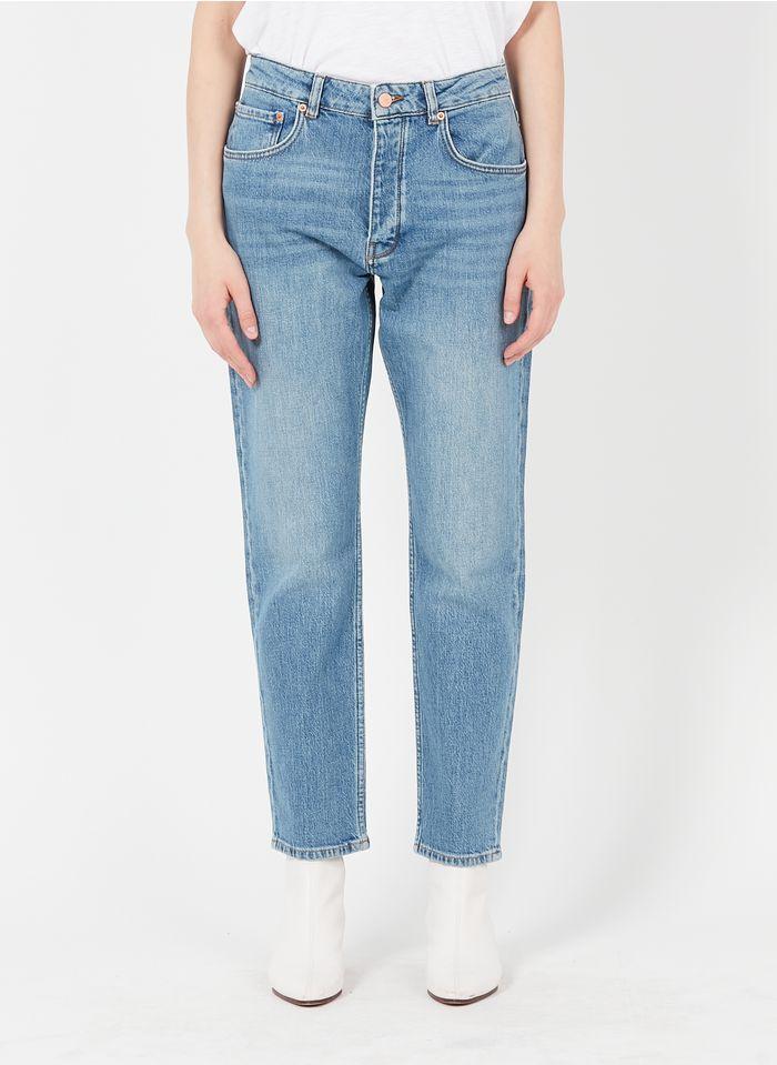 REIKO Blue Organic cotton-blend mom jeans