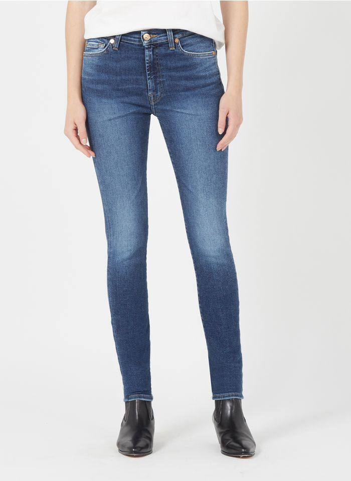 7 FOR ALL MANKIND Jean stone High-rise skinny jeans